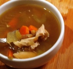 roasted chicken soup I