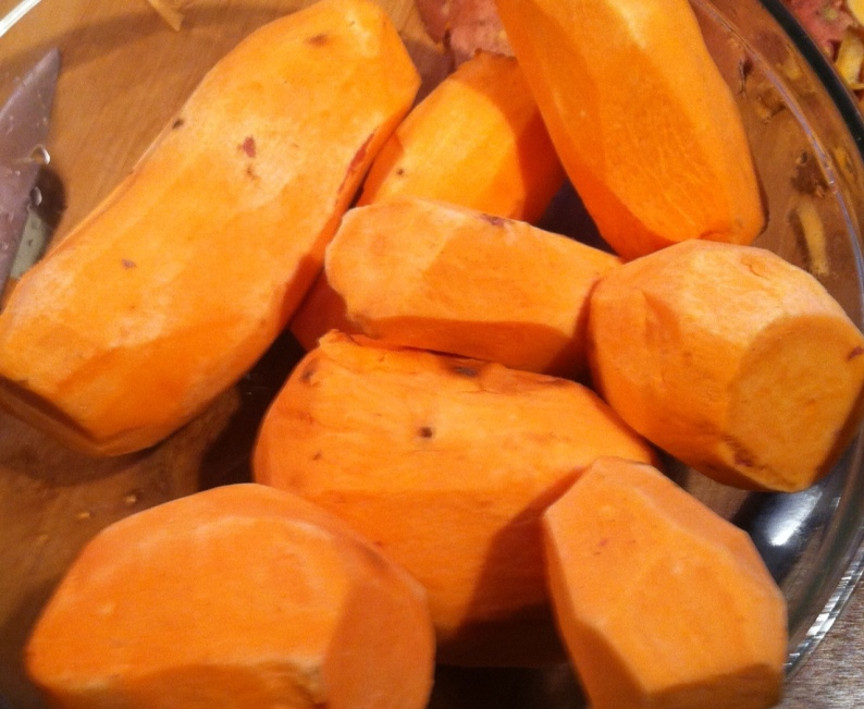 sweet potatoes- raw
