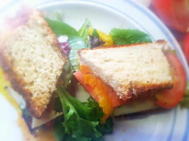 Recipes for free: Barbecue tofu sandwich