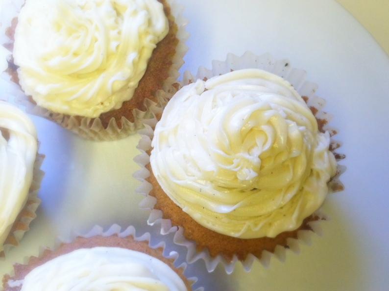 Vanilla Cupcakes top