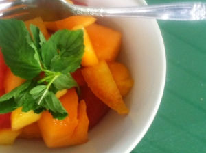 Apricot Melon Fruit Salad