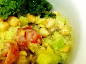 Chickpea Yogurt Salad