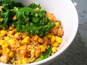 Kale + Quinoa II