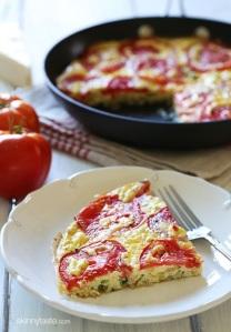 tomato and-zucchini-frittata