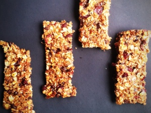 Banana Granola Bars II