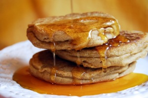 Recipes for free: Vegan sorghum pancakes