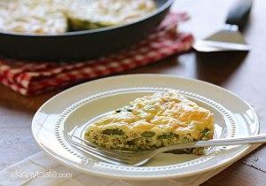 Asparagus-and-Swiss-Cheese-Fritatta