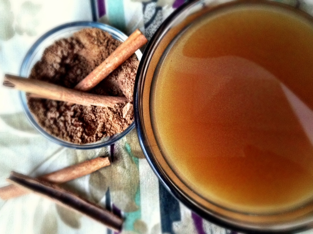 Homemade chai spice mix + classic chai black tea