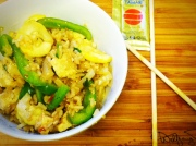 Zucchini Basil Fried Rice