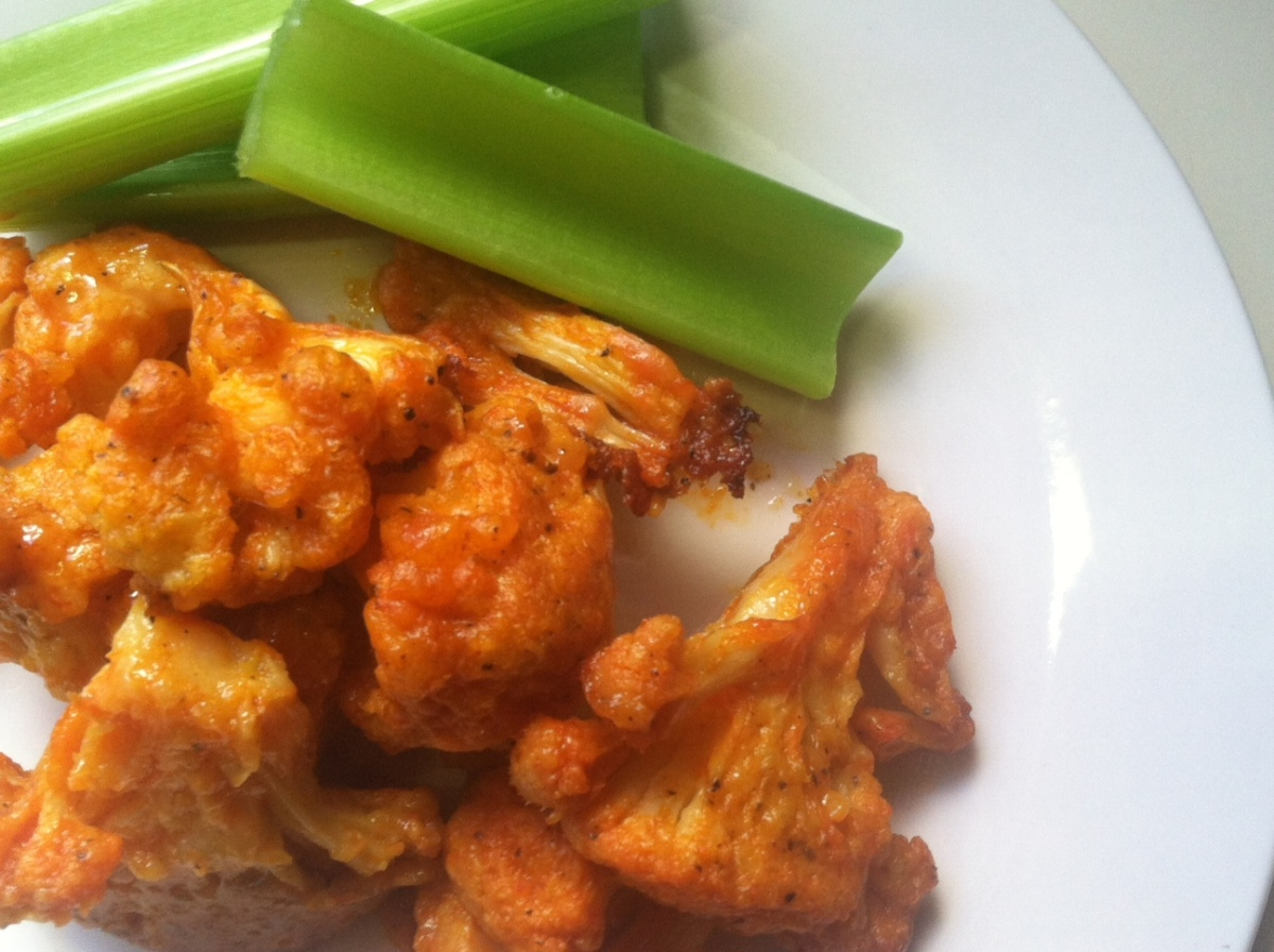 Recipes for free: Buffalo cauliflower bites