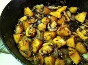 Skillet Potatoes II