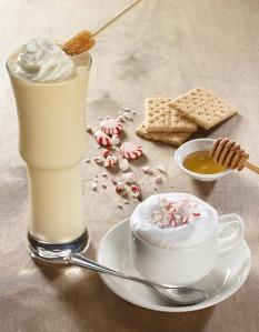 peppermint mocha cappuccino