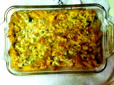 Butternut Macaroni & Bleu Cheese