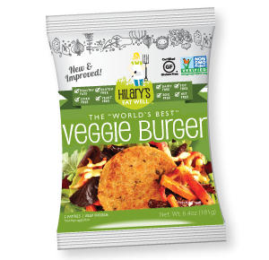 veggie burger_package