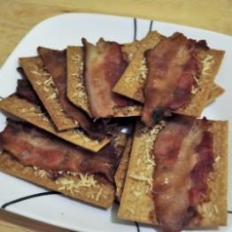 Bacon Crackers photo courtesy of Glutino