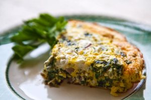 spinach-frittata-goat-cheese