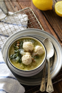 Lentil-Soup-with-Spinach-and-Mini-Chicken-Meatballs