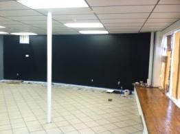 black chalk wall II