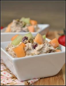 Cold Oat Breakfast Salad