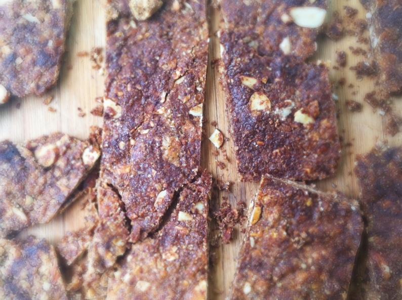 Almond Flaxssed Granola Bark