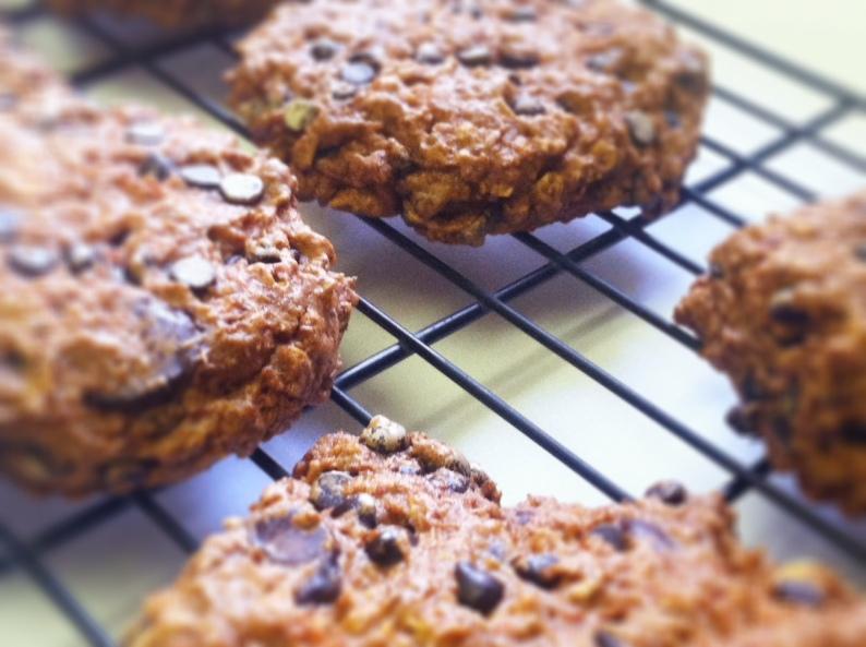 Oatmeal Chocolate Chip Carrot Cake Cookies II