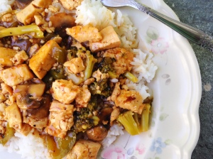 Sweet n sour Tofu full