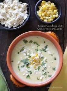 Creamy-Corn-Soup-with-Queso-Fresco-and-Cilantro