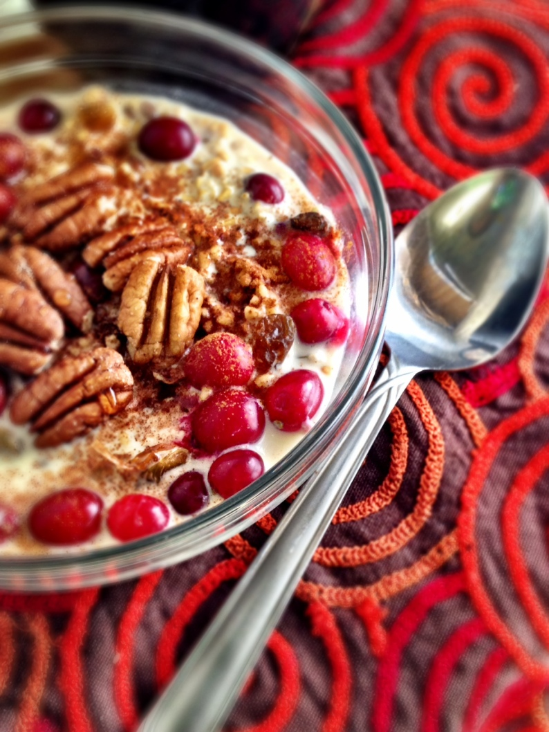 Cranberry MAple Pecan Overnight Oats II