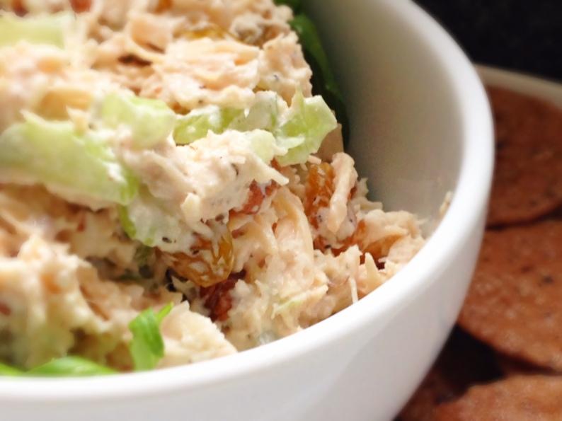 Toasted PEcan Chicken Salad