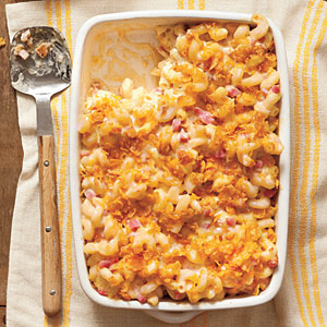Baked Macaroni Ham and Cheese