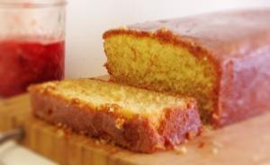 Sour Cream Pound Cake II