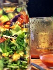 Layered & Chopped Mason Jar SaladFULL