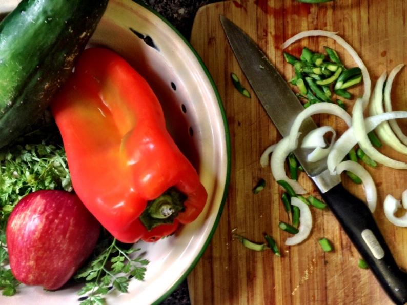 Layered Corn Veggie Salad- INGREDIENTS