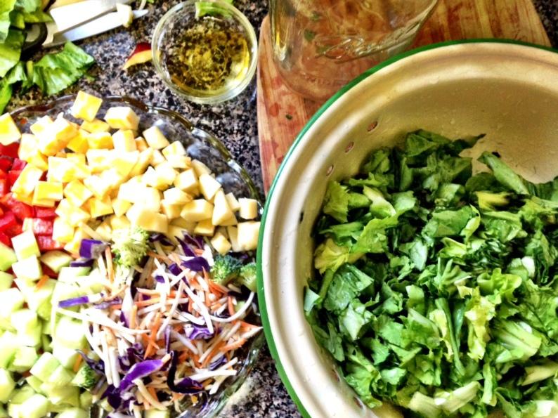 Mason Jar Salad BEGIN