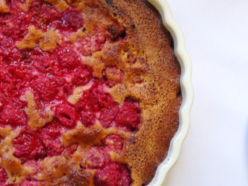 Raspberry Almond Tart II