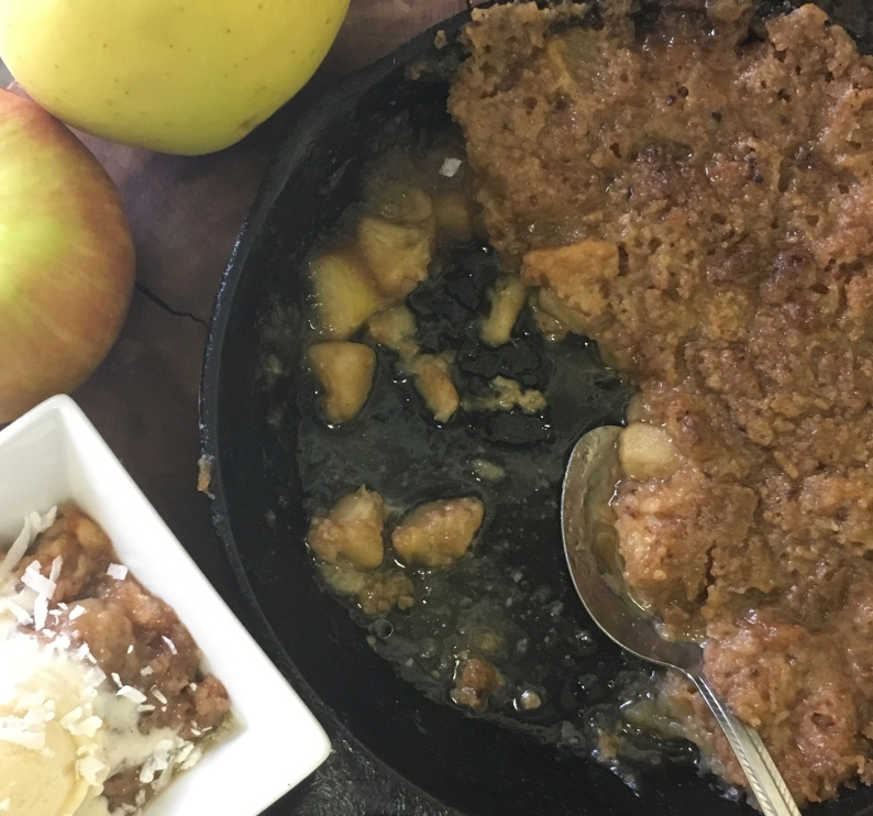 cast-iron-apple-crisp-ii
