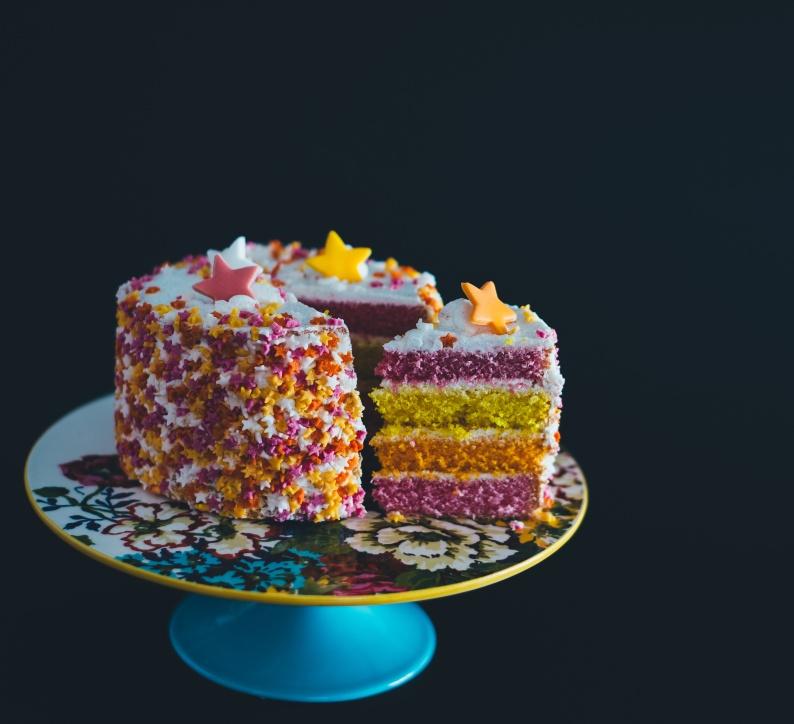 four 4 year anniversary cake 1