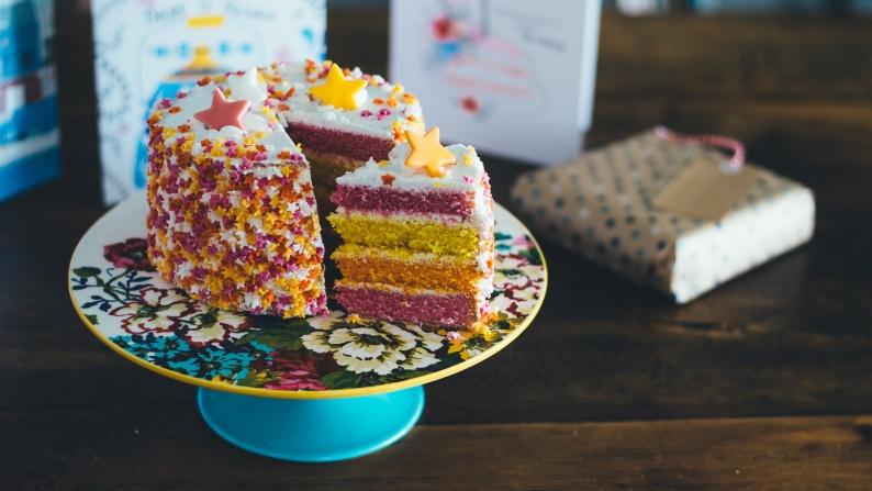 four 4 year anniversary cake 2