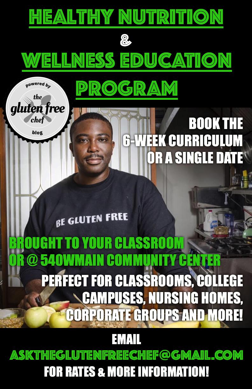 Healthy Nutrition & Wellness Education Program